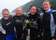 Bay Divers, Swansea's own home grown PADI accredited Dive Resort