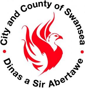 City & County of Swansea logo